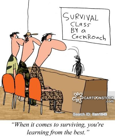 """""""When it comes to surviving, you're learning from the best."""""""
