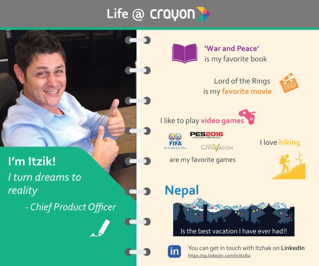 Life at Crayon - Itzik