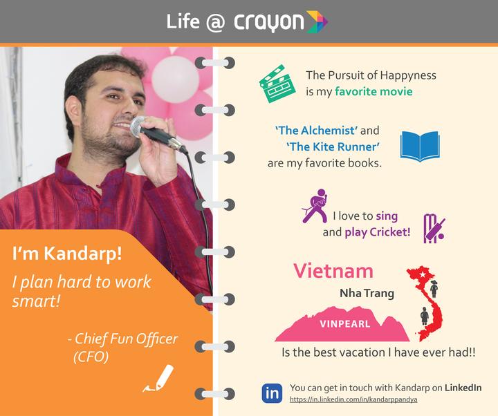 Life at Crayon by Kandarp